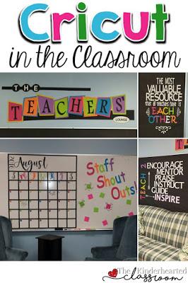 using a cricut in the classroom great ideas tips rh thekinderheartedclassroom com
